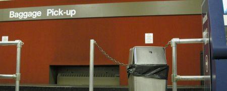 Ochrona danych na lotnisku